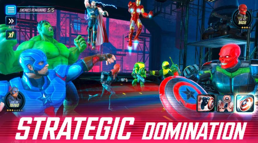 marvel strike force mod apk unlimited power cores