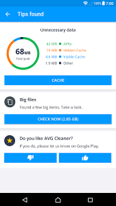 AVG Cleaner Pro APK (No ads, all features unlocked 2021)+ 1